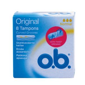 o.b NORMAL ΤΑΜΠΟΝ 8 τεμ.